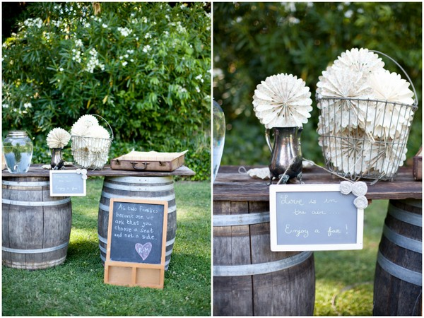 Vintage Rustic Wedding Props
