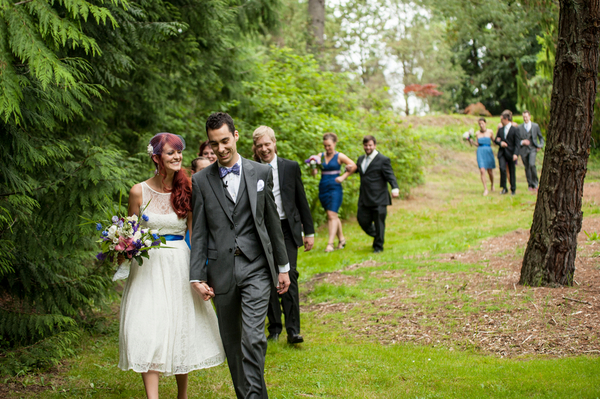 Casual Garden Wedding Seattle | Love Wed Bliss