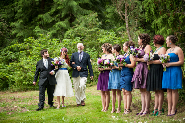 Intimate Garden Ceremony Seattle | Love Wed Bliss