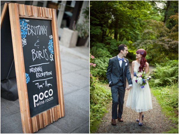 Intimate Seattle Garden Wedding | Love Wed Bliss