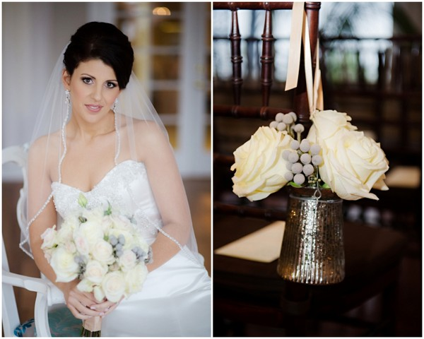 Ivory Wedding Flowers & Bouquet