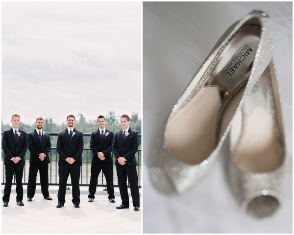 Silver Michael Mors Bridal Shoes