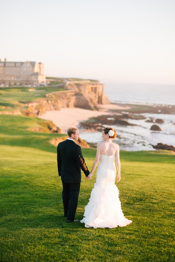 half moon bay golf course wedding Half Moon Bay Golf Links Wedding from Portrait Design by Shanti