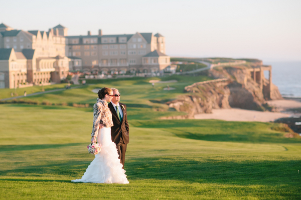 half moon bay golf links wedding Half Moon Bay Golf Links Wedding from Portrait Design by Shanti