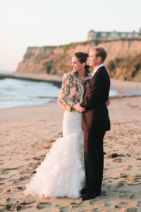 half moon bay wedding Half Moon Bay Golf Links Wedding from Portrait Design by Shanti