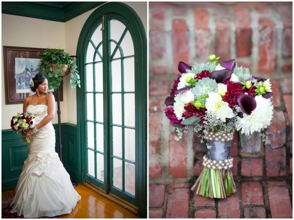 pen ryn mansion wedding 21 Magenta Wedding Theme by Visual Appeal Studios