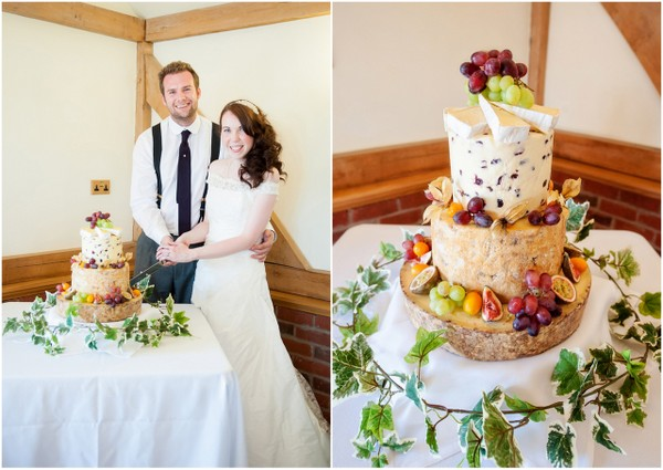 Cheese Wheel Wedding Cake | Love Wed Bliss