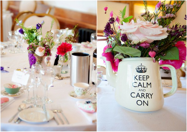 DIY Vintage Centrepieces UK Wedding | Love Wed Bliss