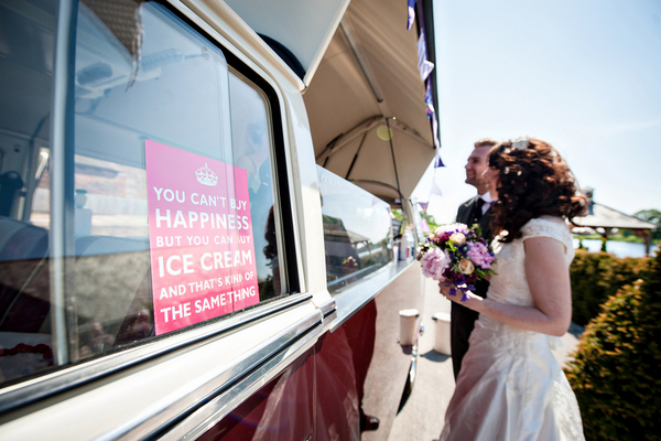 Icecream Van at Wedding | Love Wed Bliss