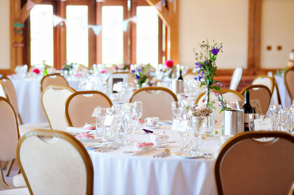 Quaint Centrepieces at UK Wedding | Love Wed Bliss