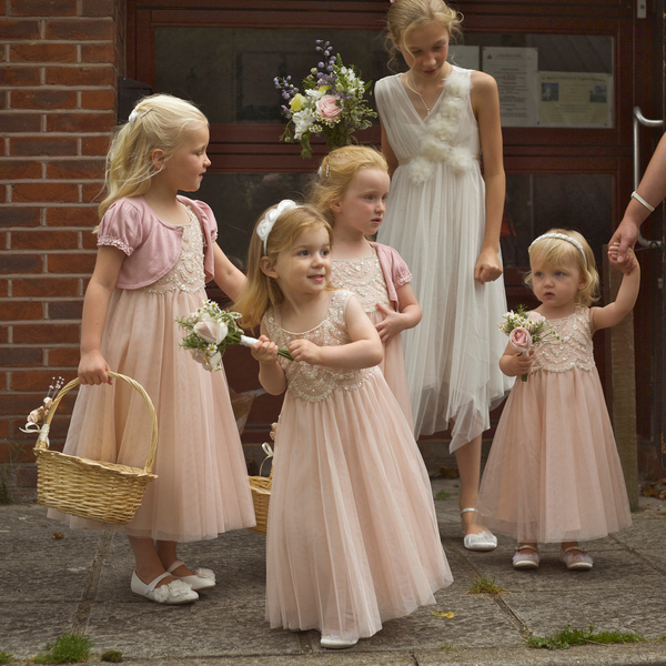 English Wedding Bridesmaids