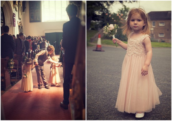 Flowergirls at Essex Wedding