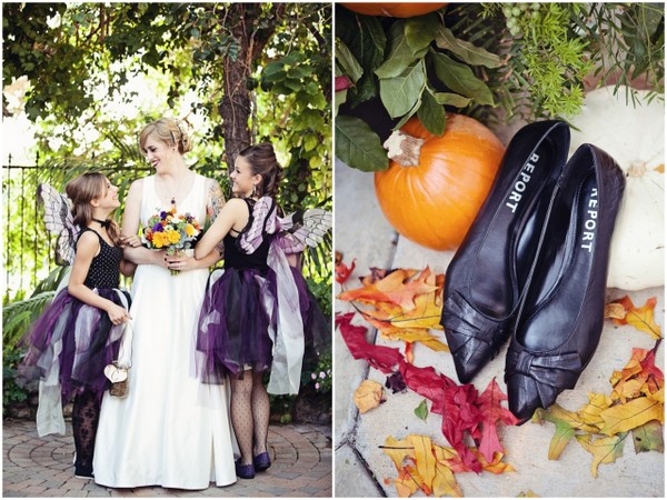 Halloween Theme Bridesmaids | Love Wed Bliss