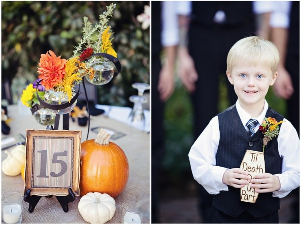 Halloween Theme Wedding Decorations | Love Wed Bliss
