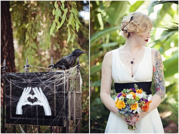 Halloween Theme Wedding | Love Wed Bliss
