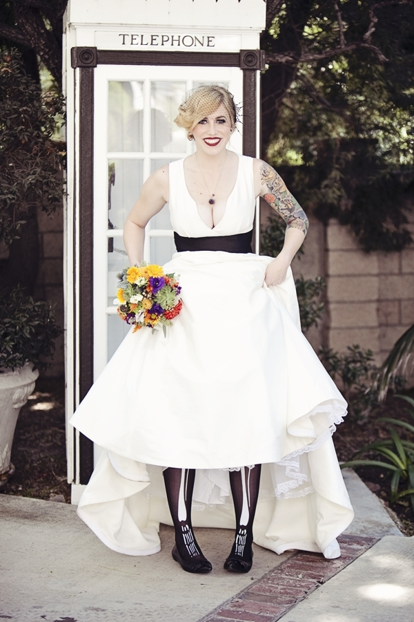 Halloween Themed Bride | Love Wed Bliss