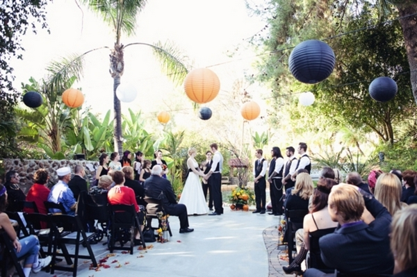 Halloween Themed Wedding Ceremony | Love Wed Bliss
