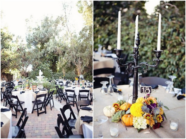 halloween themed wedding reception love wed bliss - Halloween Themed Wedding Reception