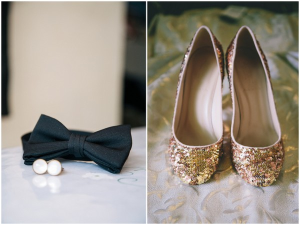 Black & Gold Wedding