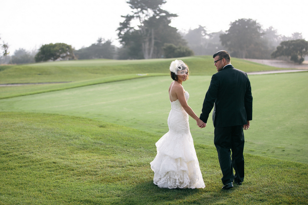 Wedding Bayonet Golf Course Monterey California