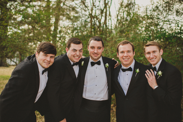 Groomsmen Vintage Wedding