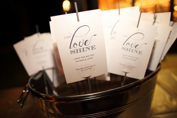 Love Shine Wedding Menus