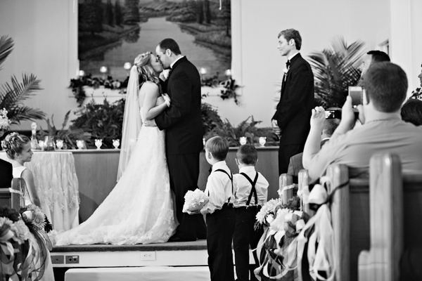 North Carolina Vintage Wedding Ceremony