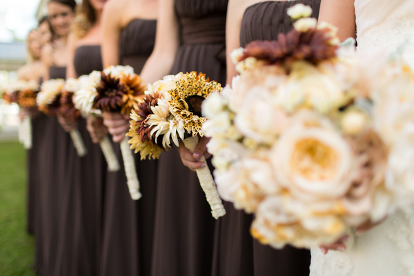vintage chic fall wedding Vintage Chic Fall Wedding by J+A Photography