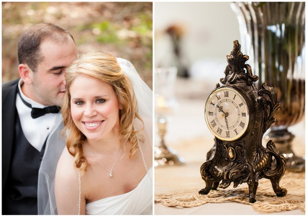 vintage fall wedding ideas Vintage Chic Fall Wedding by J+A Photography