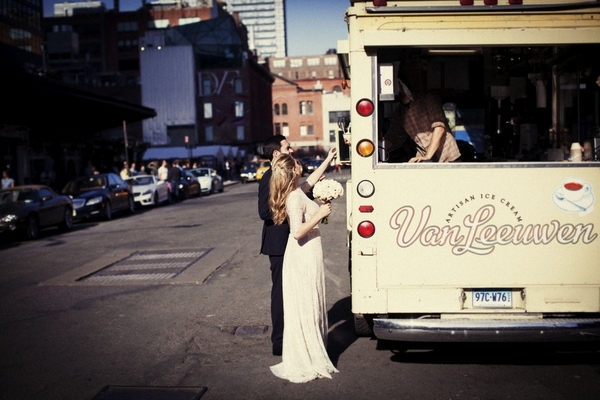 Ice Cream Van Manhattan Wedding