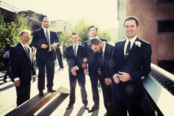 Manhattan Wedding Groomsmen