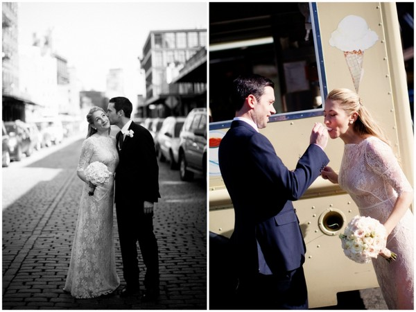 New York City Wedding Vintage