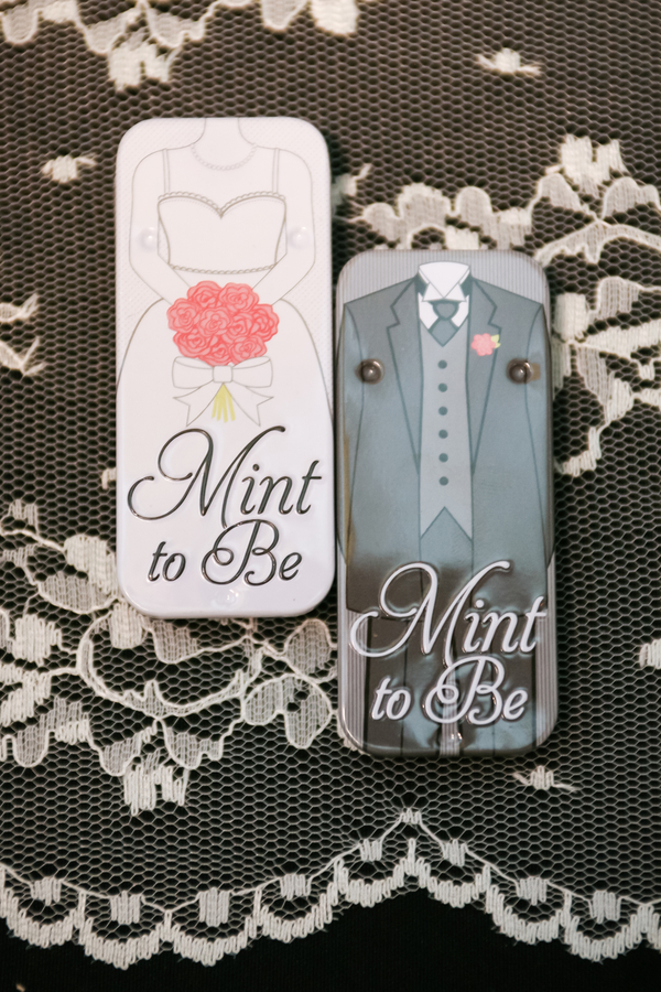 Vintage Travel Themed Wedding Favors