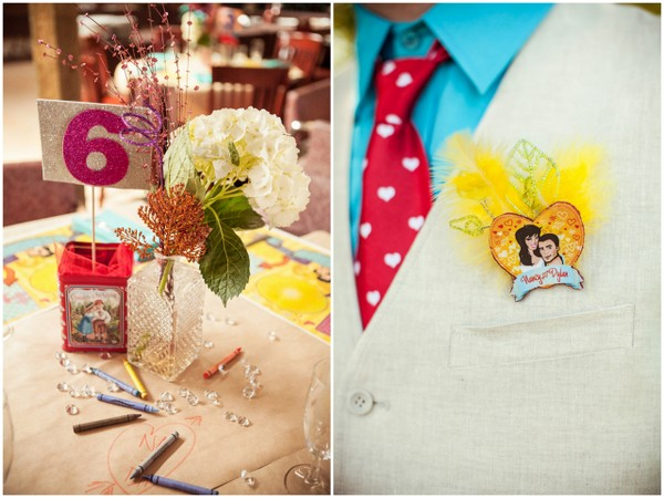 Whimsical DIY Wedding Centrepieces | Love Wed Bliss