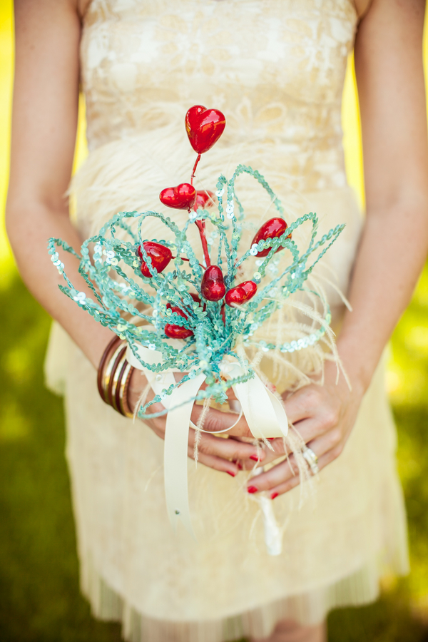 Whimsical Hearts Bouquet | Love Wed Bliss