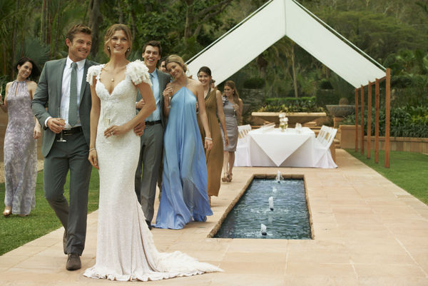 Garden Wedding on Hayman Island