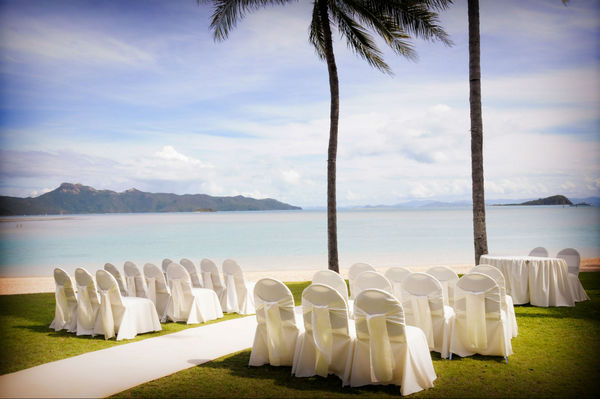 Hayman Island Beach Wedding
