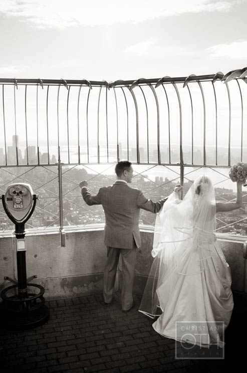 Wedding on Empire State Building