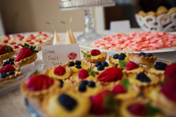Cream Fruit Tarts | Love Wed Bliss
