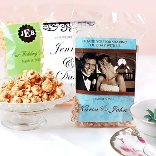 Flavored Popcorn Wedding Favors | Love Wed Bliss