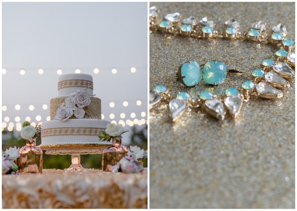 Mint & Gold Wedding Ideas