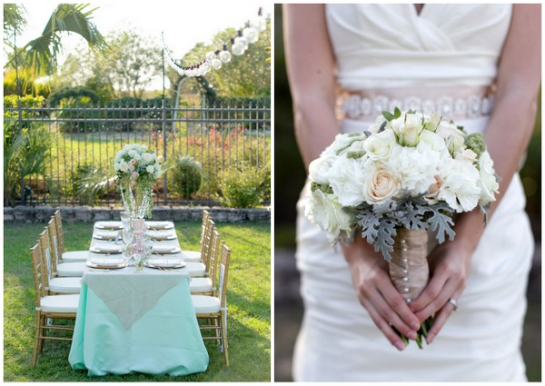 Mint Green Wedding Decoration Ideas