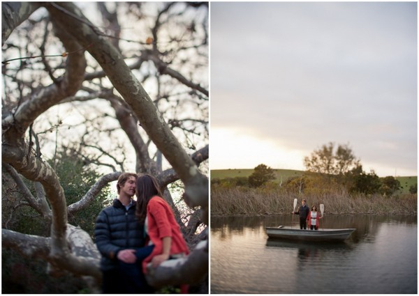 california lake engagement session California Heritage Schoolhouse Engagement Shoot by Jonathon David Photographers