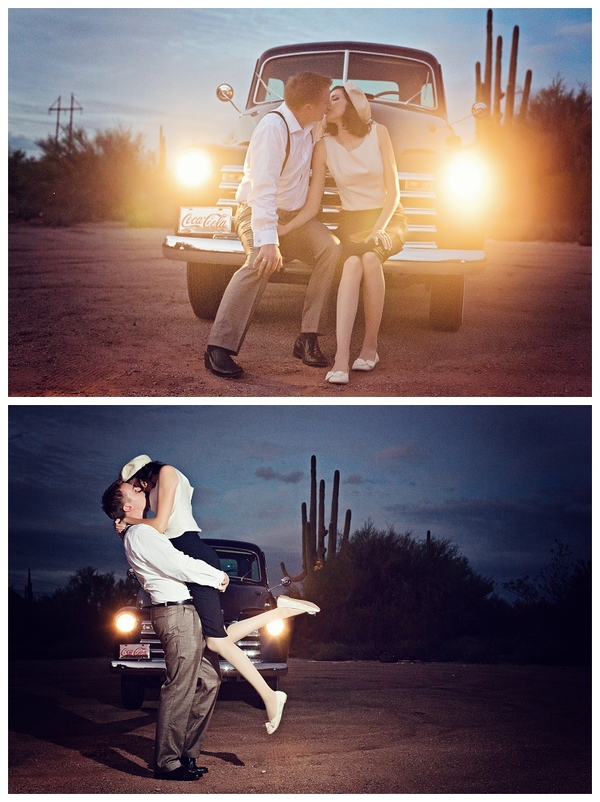 Bonnie and Clyde Engagement Shoot | Love Wed Bliss
