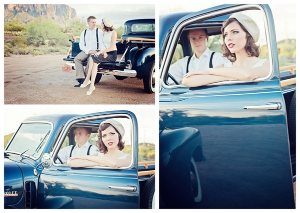 Bonnie and Clyde Themed Shoot | Love Wed Bliss