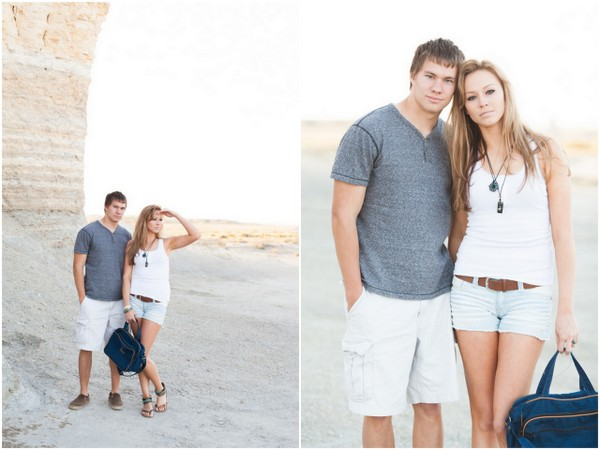 Monument Rocks Styled Engagement Session