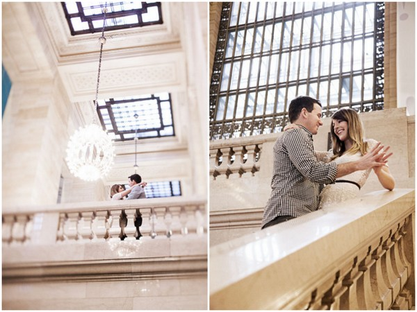 Grand Central Station Engagement Session