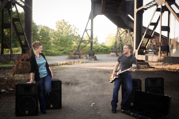 Music Themed Engagement Session