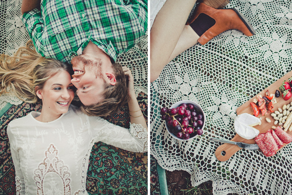 engagement picnic shoot Picnic By The Sea by Trigger Happy Images