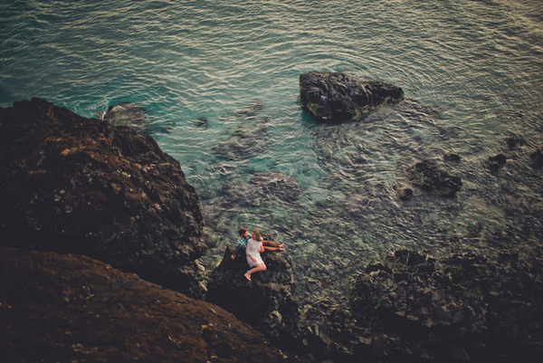 noosa beach engagement session Picnic By The Sea by Trigger Happy Images